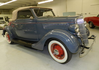1935 Ford Cabriolet – IN RESTORATION