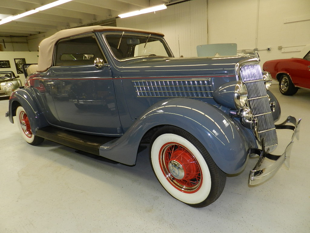 1935 Ford Cabriolet For Sale – CALL FOR PRICE
