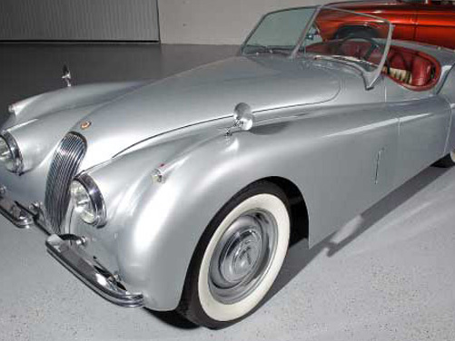 1954 Jaguar XK120 Convertible – $110,000