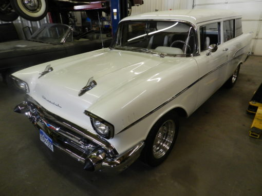 1957 Chevy Bel Air Wagon – $65,000
