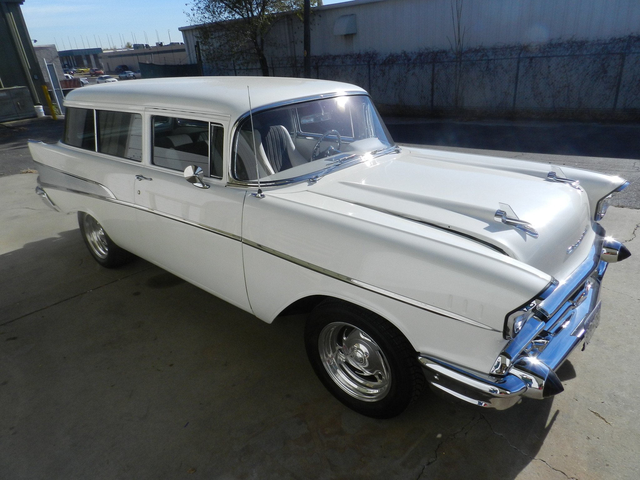 1957 chevy bel air wagon for sale 39 900 for Garage peugeot bouc bel air