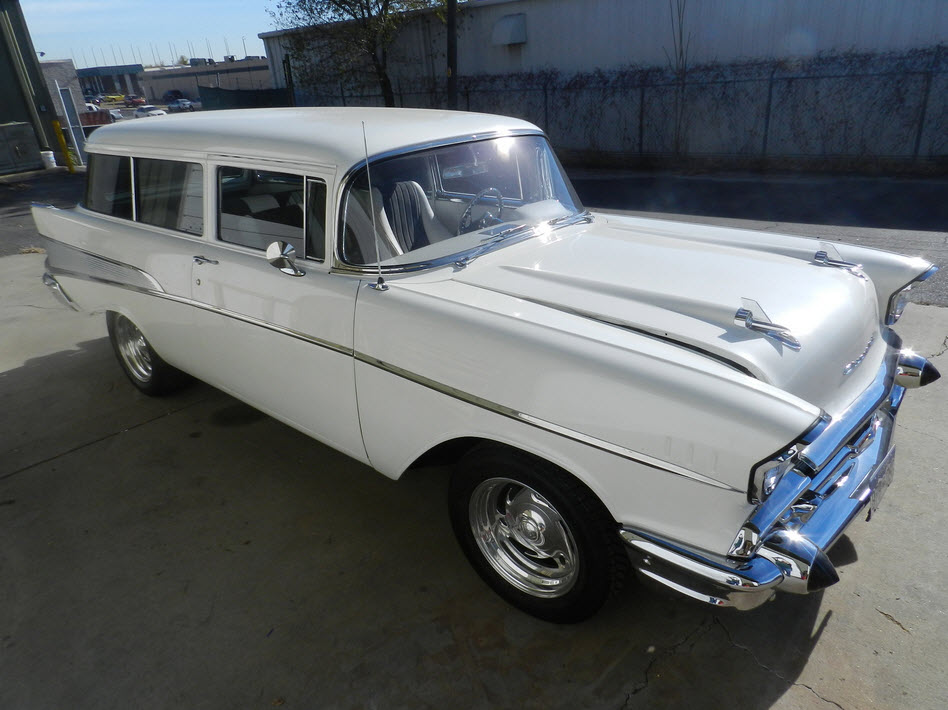 Chevy Truck Wheels >> 1957 Chevy Bel Air Wagon – $39,900 | Dukes Garage