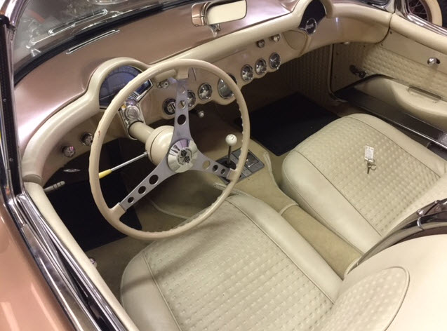 1957 Chevy Corvette Interior