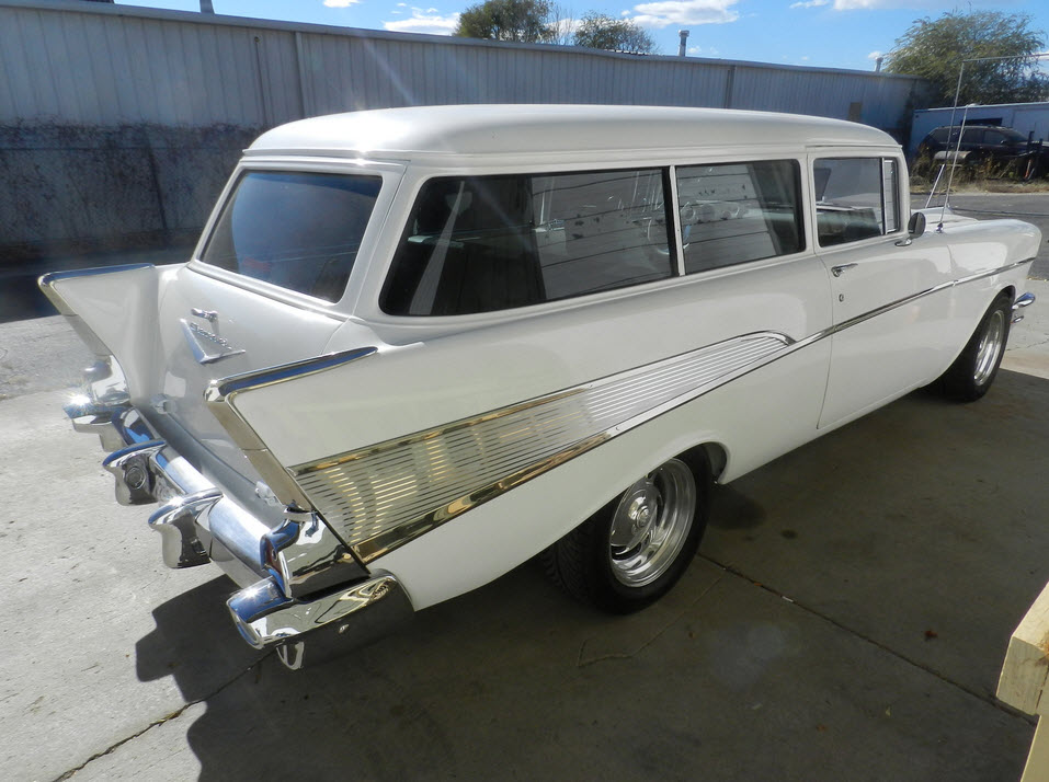 1957 chevy bel air wagon for sale 39 900. Black Bedroom Furniture Sets. Home Design Ideas