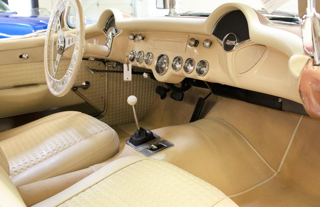 Classic '57 Corvette Fuel Injection Engine For Sale