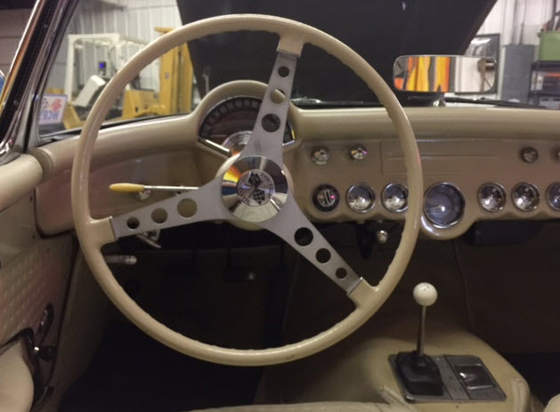 57 Corvette Steering Wheel