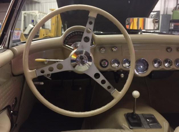57 Corvette Steering Wheel