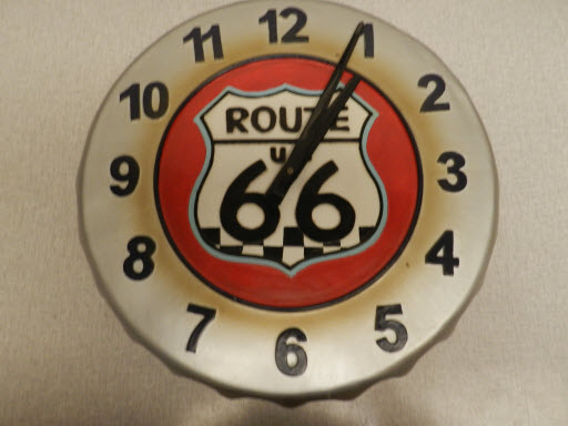 Route 66 Clock For Sale
