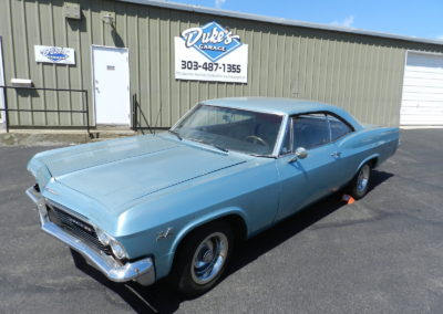 1965 Chevy Impala SS – CALL FOR PRICE